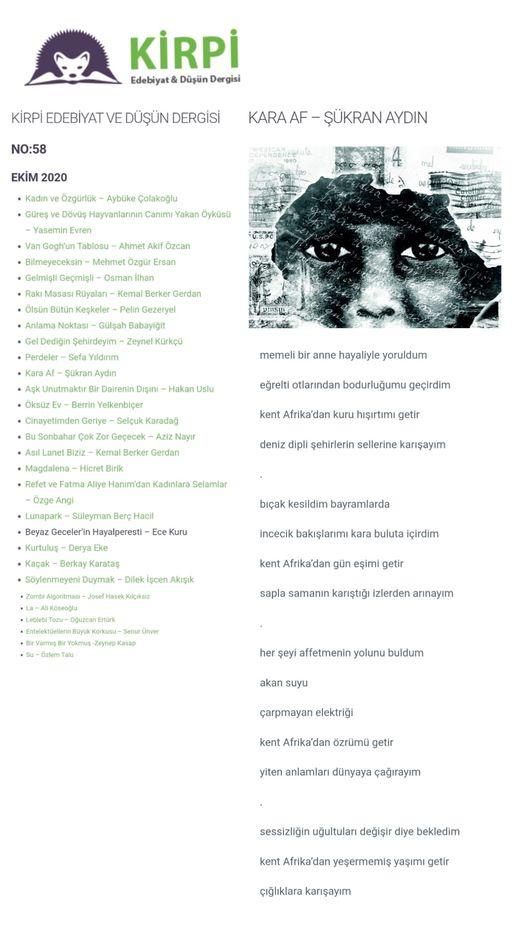 sukran-aydin-siirleri-kara-af-kirgi-edebiyat-dusun-dergisisinde-nehissettinseo Kara Af Anlamın Yaşı Küçük Şiir